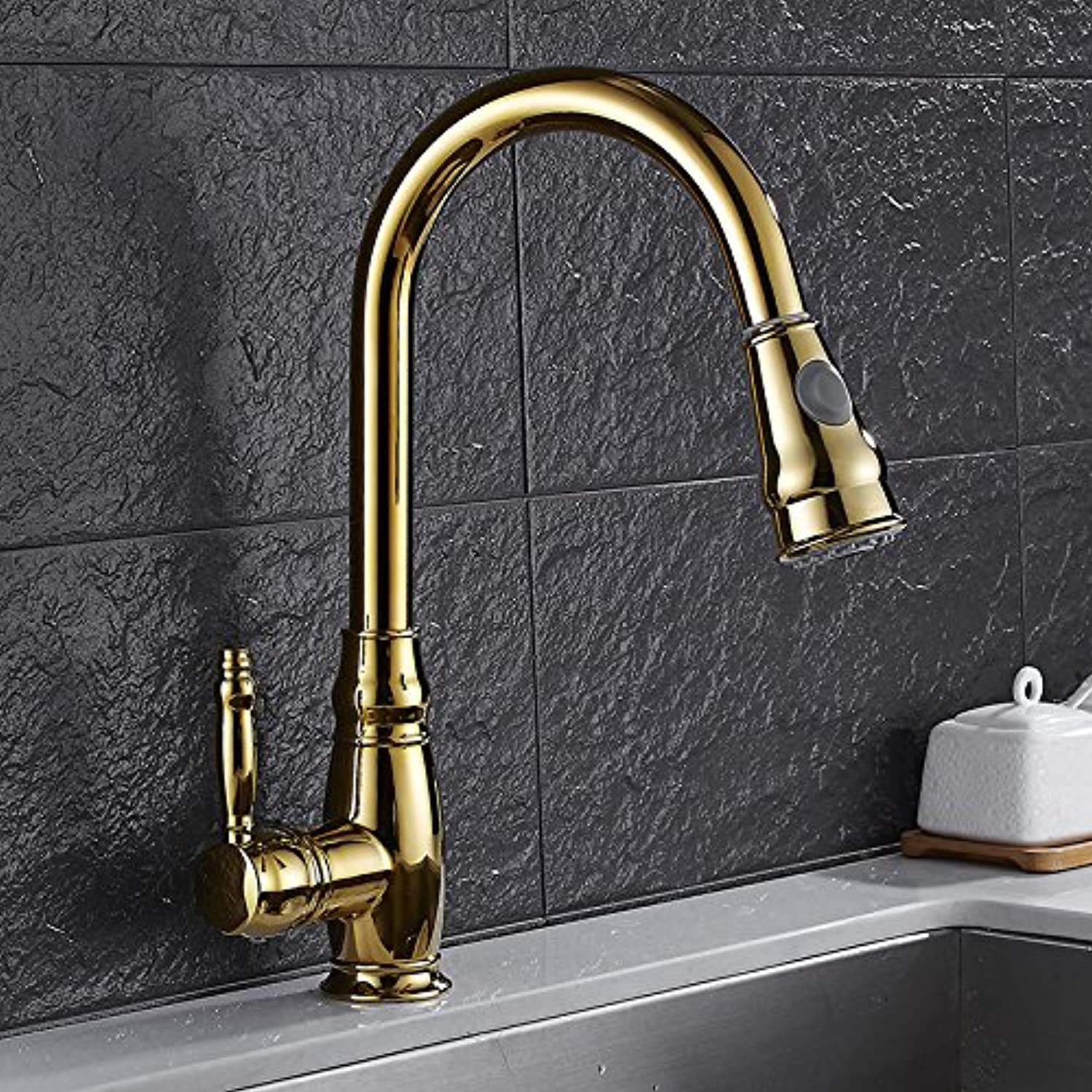 redOOY Faucet Taps Kitchen Hot And Cold Faucet?????Kitchen Hot And Cold Faucet Sink Sink Faucet