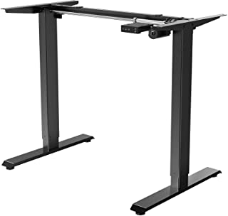 """Electric Stand up Desk Frame - ErGear Height Adjustable Table Legs Sit Stand Desk Frame Up to 47.2"""" Ergonomic Standing Des..."""