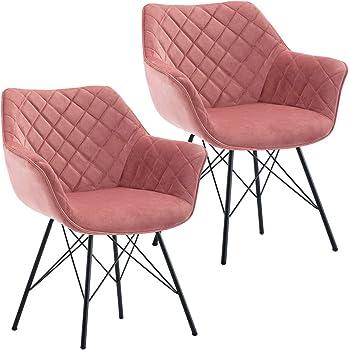 Duhome 2X Chaise Salle à Manger Chaise rembourrée Design
