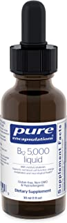Pure Encapsulations - B12 5000 Liquid - 5,000 mcg Vitamin B12 (Methylcobalamin) Liquid for Nerve Health and Cognitive Func...