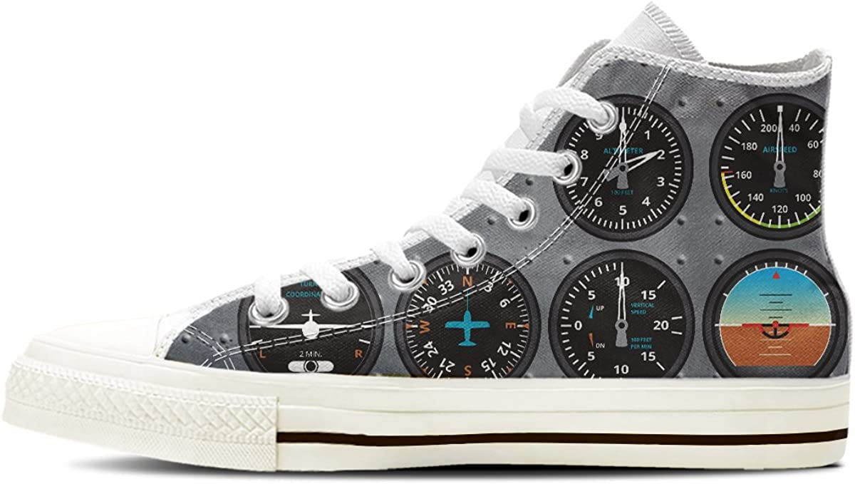 Gnarly Tees Women's Pilot Gauge High Top NEW before selling Max 86% OFF ☆ Shoes