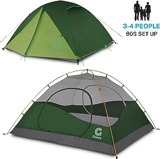 Gonex Tienda de Campaña 3-4 Personas, Tienda de Camping
