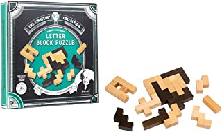 The Einstein Collection Letter Blocks - 3D Brain Teaser Puzzles - 12 Brain Teasing Challenges - Professor Puzzle 3D Brain Teaser Puzzles.