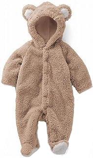 mama stadt Pijama Mameluco Bebé Disfraces Traje Animales Oso Fotografía Prop Chaqueta Cálido y Confortable