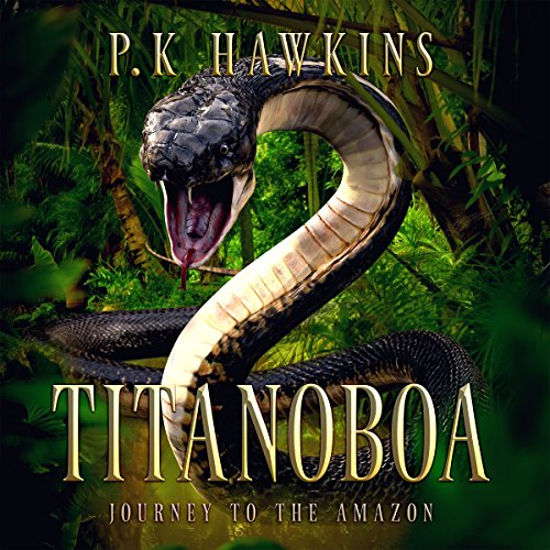 Titanoboa audiobook cover art