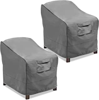 Amazon Com Grey Chair Covers Patio Furniture Covers Patio
