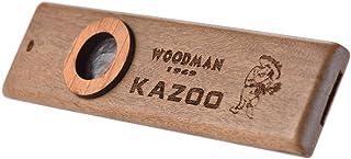 ammoon Wooden Kazoo Instrumento Musical Socio Guitarra