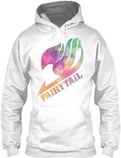 Anime Fairy Tail - Fairy Tail, Natsu Premium White Unisex Hoodie