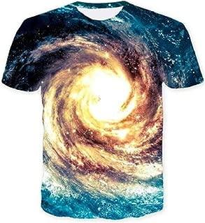 Unisex 3D Patrón Impreso Camisetas Verano Casual Manga Corta T-Shirt S-XXL
