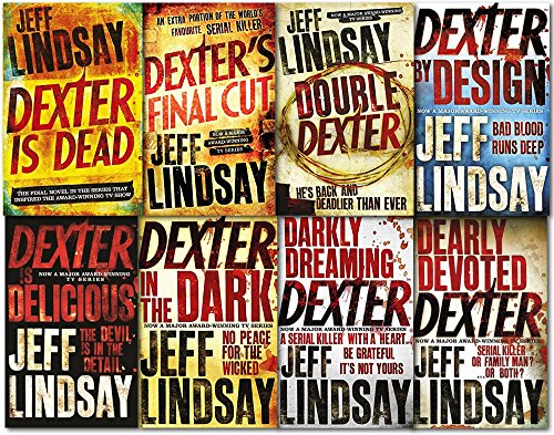 Jeff Lindsay Novel Dexter Series Collection 8 Books Set (Dexter)