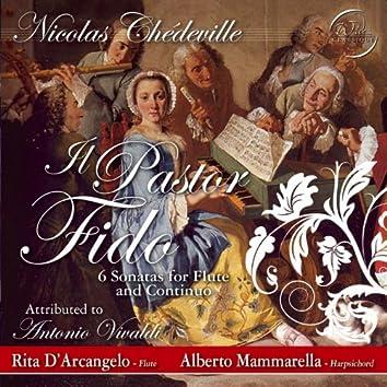 Chédeville: il pastor fido, 6 sonatas for flute and continuo
