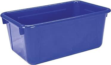 School Smart Tote Tray - 12 x 8 x 5 inches - Blue