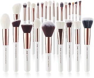 Jessup Brand 25pcs Professional Makeup Brush set Beauty Cosmetic Foundation Power Blushes eyelashes Lipstick Natural-Synth...