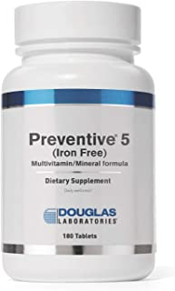 Douglas Laboratories - Basic Preventive 5 - Iron-Free Highly Concentrated Vitamin/Mineral/Trace Element Sup...