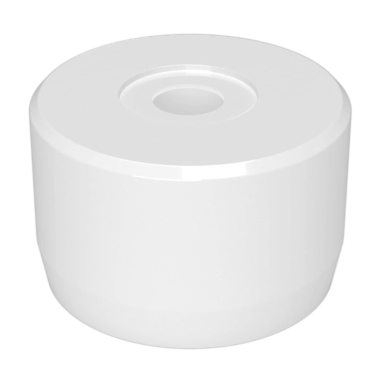 FORMUFIT F114CP7-WH-4 PVC Caster Pipe Max 67% OFF Cheap mail order specialty store 1-1 Furniture Cap Grade