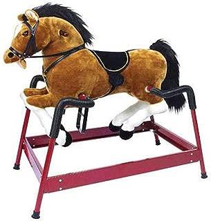PonyLand Spring Horse with Sound, Brown