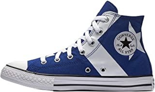Converse Kids CTAS Hi Blue/White/White Skateboarding Shoes 662640C