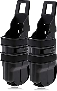 HOTX Tactical Double Fast Pistol Magazine Pouch Bag Holster Fast MAG Pistol 5.56 M41 Attach Molle System