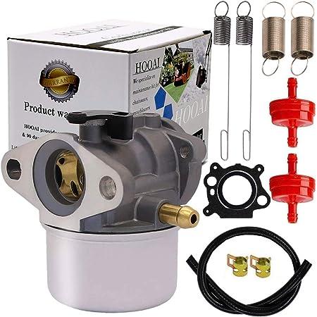 MAGT Vergaser Vergaser Kompatibel mit Briggs /& Stratton 497586 498170 799868 498254 497314 Freischneider Rasentrimmer mit Dichtung