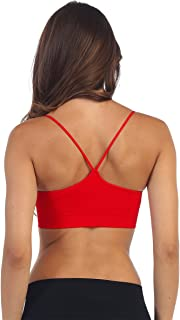 Kurve Women's Padded Bandeau Bra (Removable) -Made with Love in The USA-