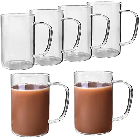 Special Request More Additional Glass Coffee Mugs 6 Pieces
