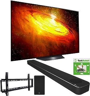 LG OLED55BXPUA 55-inch BX 4K Smart OLED TV with AI ThinQ (2020) Bundle SN8YG 3.1.2 ch High Res Audio Soundbar + TaskRabbit...