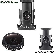 Navinio - Sistema de Aparcamiento con cámara CCD Resistente al Agua IP67 Wide Degree (Centro), Color Negro para Toyota Prado Land Cruiser 2014 2015 2016