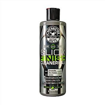 Chemical Guys WAC20616 Slick Finish Cleaner Wax (16 oz): image