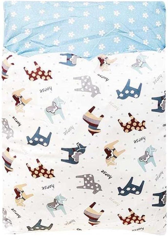 Cama Japonesa para Gatos Saco de Dormir cálido para Gatos Sueño Profundo Invierno Cama extraíble para Perros Casa Nido de Gatos Cojín con Almohada-Pony, S 45x30cm