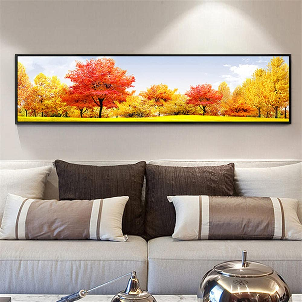 DIY 5D Diamond Under blast sales Painting 70% OFF Outlet by Number Drill Kits Di Tree Full Golden