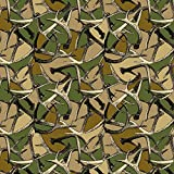 GRAPHICS & MORE Antlers Camo Camouflage Hunting Hunter Premium Roll Gift Wrap Wrapping Paper