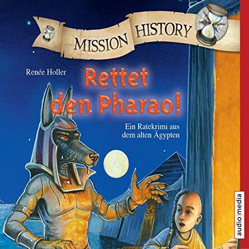 Rettet den Pharao! Ein Ratekrimi aus dem alten Ägypten Titelbild