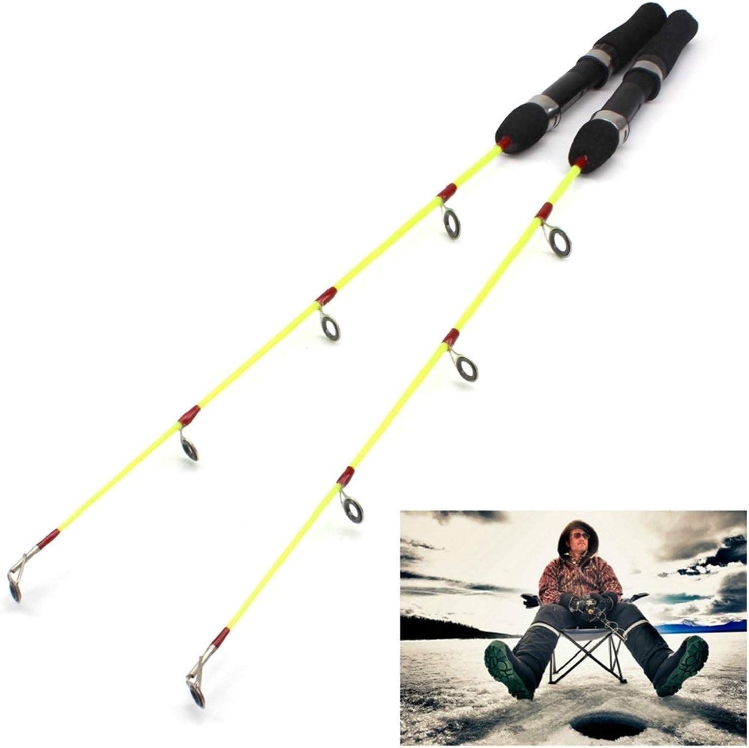 H A Minimum Ranking TOP8 Profit 2PCS Lightweight Rod Max 55% OFF ice 60cm 55g Fishing