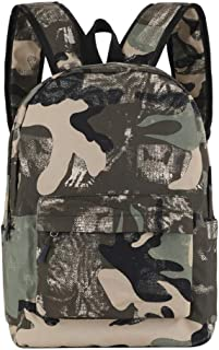 School Backpack for Boy/Girls Students Bookbag Casual Everyday Camo Ruckpack
