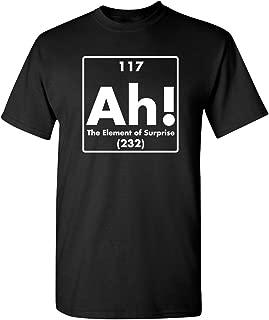 Best ah the element of surprise t shirt Reviews