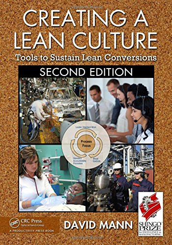 Download Creating a Lean Culture: Tools to Sustain Lean Conversions, Second Edition 1439811415
