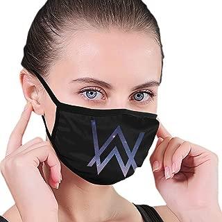 Alan Walker DJ Dust Mask Washable Cotton Mouth Mask with Adjustable Strap
