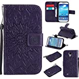 KKEIKO Galaxy S4 Case, Galaxy S4 Flip Leather Case,