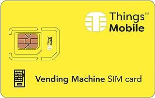 Tarjeta SIM para máquinas expendedoras / vending machines - GSM / 2G / 3G / 4G