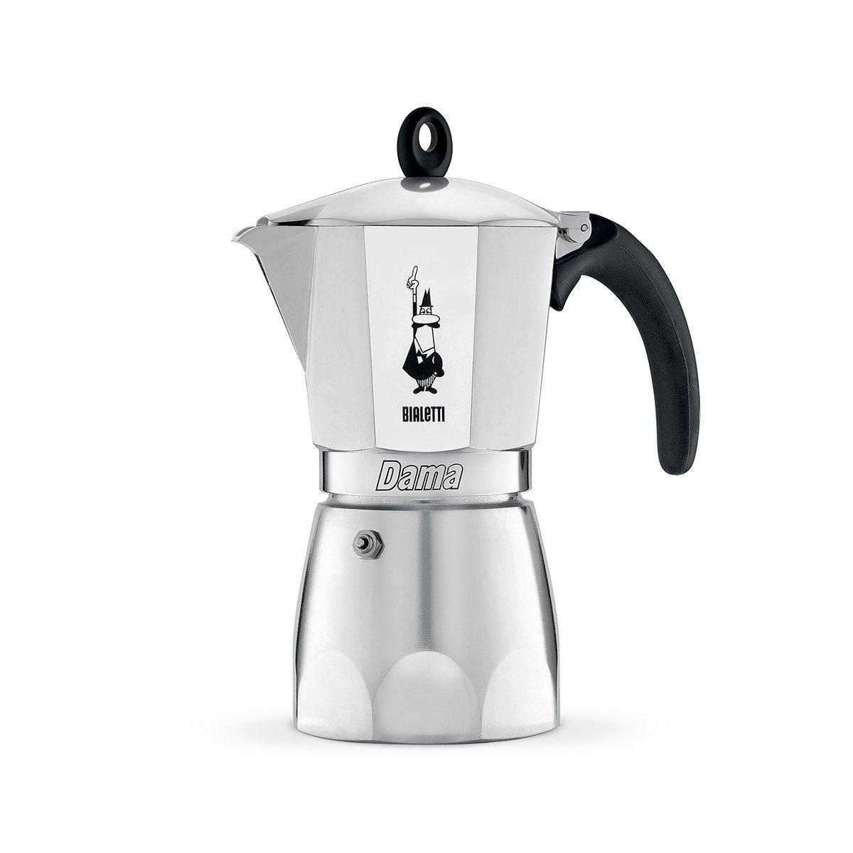 Bialetti Dama, cafetera de Aluminio, 9 Tazas: Amazon.es: Hogar