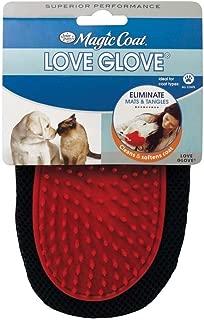 Four Paws Magic Coat Love Glove Dog Coat Grooming Mitt Flexible Rubber Tips