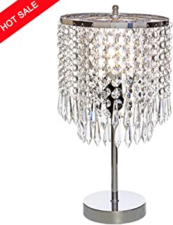 Modern Crystal Table Lamp Heart Shape Crystal Silver Desk Lamp With Button Switch For Home Beside Bedroom Decoration Lights & Lighting