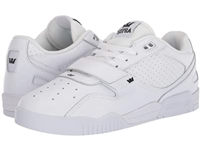 Supra Breaker Low (White/White) Men