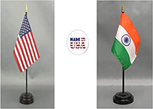Made in The USA. 1 American and 1 Indian Rayon 4