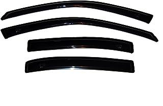 Auto Ventshade AVS 94007 Original Ventvisor Side Window Deflector Dark Smoke, 4-Piece Set for 1997-2005 Buick Century, 199...