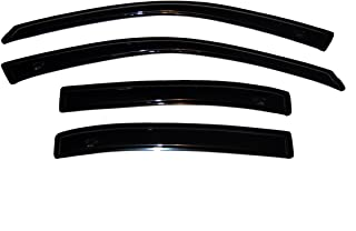 Auto Ventshade 94007 Original Ventvisor Side Window Deflector Dark Smoke, 4-Piece Set for 1997-2005 Buick Century, 1997-2004 Regal Sedan, 1998-2004 Oldsmobile Intrigue