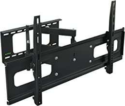 Mount-It! MI-349B/948 Articulating TV Wall Mount Bracket Dual Arm Swivel Design for LCD/LED/4K TVs Fits Most 37