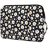 OneGET Laptop Sleeve Case Compatible with 2019 MacBook Pro 16 inch Touch Bar A2141MacBook Pro Retina 2012-2015 Notebook Polyester Vertical Watercolor Flowers Bag with Pocket (15.6-16Inch, S103)