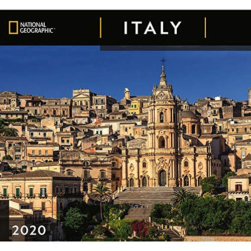 2020 Italy NG Wall Calendar, by Zebra Publishing