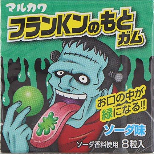丸川製菓 フランKンのもとガム 8粒×18個